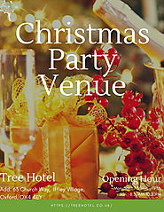 christmas party venue