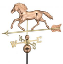 Running Horse Weathervanes