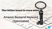How to Optimize Amazon Backend Keywords for PPC (Pay Per Click)