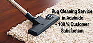 Rug Cleaning Service in Adelaide – 100 % Customer Satisfaction