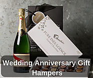 Champagne & Chocolate Wedding Anniversary Gift Hampers