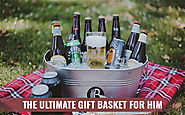 Melbourne Ultimate Gift Basket for Him