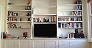 Create More Space With Alcove Shelving