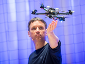 The astounding athletic power of quadcopters