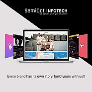 Top website development company | Semidot Infotech