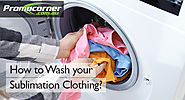 How to Wash your Sublimation Clothing?