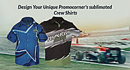 Design Your Unique Promocorner's sublimated Crew Shirts