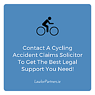 Cycling Accident Claims Solicitors in Dublin- Bicycle Accident Compensation
