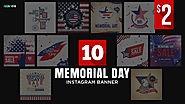Memorial Day Instagram Designs - HYOV