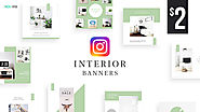 Interior Instagram Banners Designs - HYOV