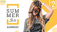 Summer Fashion Sale Banner Design - HYOV