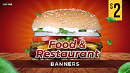 Food and Restaurant Banners Designs - HYOV