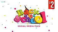 Back to School Social Media Banners Pack - HYOV