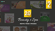 Beauty and Spa News Feed Banner Designs - HYOV