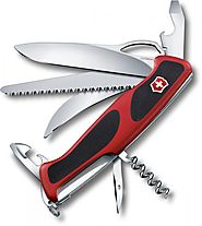 SWISS ARMY VICTORINOX RANGERGRIP 57 HUNTER FUNCTION MULTI FUNCTION POCKET KNIFE.
