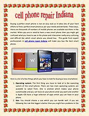 Cell phone repair indiana