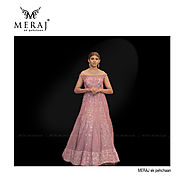 One Stop Shop for Designer Bridal Gowns in Commercial Street Bangalore - Meraj ek pehchaan
