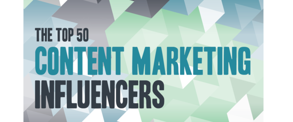 Headline for Top 50 Content Marketing Influencers