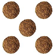 Cow Dung Cake – Pack of 4 Pieces (250 grams) – Gold Mine & Good Fertilizer for Terrace Gardening & Organic Farming, W...