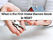 What is the First Home Owners Grant in NSW