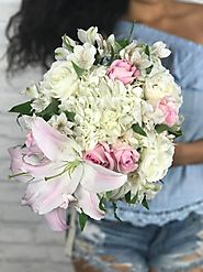 Deliver Keep Calm and Sparkle on Bouquet with Flower Delivery La Brea