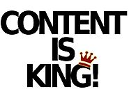 Why content is the king?