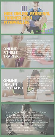 Why Should You Hire an Online Personal Trainer