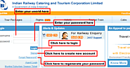IRCTC Login | Faster New Sign Up and Sign In | IRCTC-Login.Net
