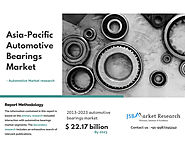 Asia-Pacific Automotive Bearings Market Reach up to $ 22.17 billion by 2023.