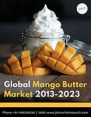 Mango Butter Market 2013-2023 Global Market Analysis, Status and Trend Report
