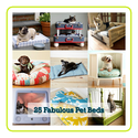 25 Fabulous DIY Pet Bed ideas!