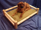 Day Log Dog Bed Large