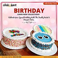 Check Out the Best Store for Online Cake Delivery Delhi