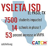 CATCH - Results from CATCH's first year in Ysleta ISD in... | Facebook