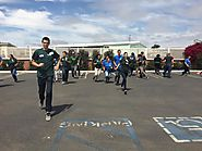 Doing a CATCH PE training with Santa... - UC CalFresh Education Program, San Luis Obispo and Santa Barbara Counties |...
