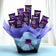 Send Dairy Milk Hamper Same Day Delivery - OyeGifts