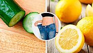 Smoothies of cucumber, lemon and mint help to lose weight