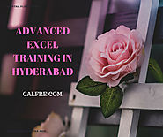 Job Oriented for Advanced Excel Training in Hyderabad = | Best Institute CALFRE
