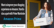 Want to improve your shopping experience on Amazon. Stand a class apart with Prime Wardrobe. - Gadget Care Service