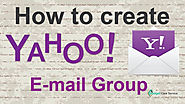 How to Create a Group On Yahoo Mail? - Sights + Sounds