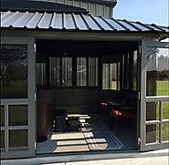 Gazebo Hot Tub Enclosure