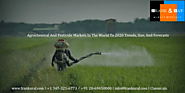 Agrochemical And Pesticide Markets In The World To 2020 – Trends, Size, And Forecasts