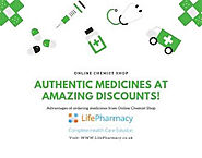 Online Chemist Shop - Life Pharmacy : Online Chemist Shop - Authentic Medicines at Amazing Discounts!