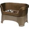 Large Selection of raised bowls feeding stations
