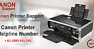 Canon printer technical support number Australia +61-1800-431-295