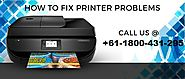 How to Resolve HP Printer Connection Issues to Apple Laptop? Call +61-1800-431-295 for Quick Solution service - Canon...