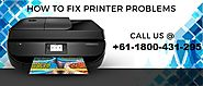 How to Resolve HP Printer Connection Issues to Apple Laptop? Call +61-1800-431-295 for Quick Solution service - face ...