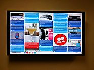 Show UGC on Digital Signage's via Brand Specific Hashtag