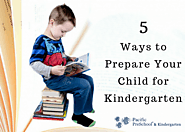 5 Ways to Help Your Child Prepare for Kindergarten