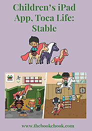The Book Chook: Children's iPad App, Toca Life: Stable